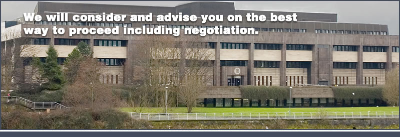 Our glasgow company will consider and advise on the best way to negotiate